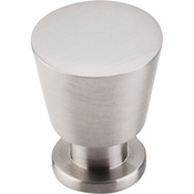 "Top Knobs - Nouveau II Collection - Rocks Knob 7/8"" - Brushed Satin Nickel - M549"