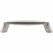 "Top Knobs - Nouveau II Collection - Rung Pull 3 3/4"" (c-c) - Brushed Satin Nickel - M567"