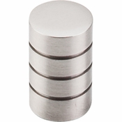 "Top Knobs - Nouveau II Collection - Stacked Knob 5/8"" - Brushed Satin Nickel - M576"