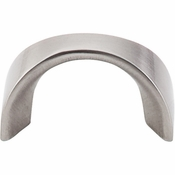 "Top Knobs - Nouveau II Collection - U - Pull 1 1/4"" (c-c) - Brushed Satin Nickel - M552"