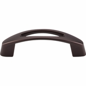 "Top Knobs - Nouveau Collection - Verona Pull 3"" (c-c) - Oil Rubbed Bronze - M1774"
