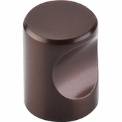 "Top Knobs - Nouveau II Collection - Indent Knob 3/4"" - Oil Rubbed Bronze - M1601"