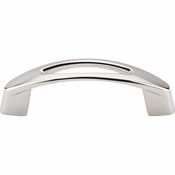 "Top Knobs - Nouveau Collection - Verona Pull 3"" (c-c) - Polished Nickel - M1770"