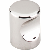 "Top Knobs - Nouveau II Collection - Indent Knob 3/4"" - Polished Nickel - M1600"