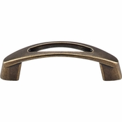 "Top Knobs - Nouveau Collection - Verona Pull 3"" (c-c) - German Bronze - M1775"