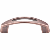 "Top Knobs - Nouveau Collection - Verona Pull 3"" (c-c) - Antique Copper - M1768"