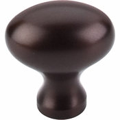 "Top Knobs - Oil Rubbed Collection - Egg Knob 1 1/4"" - Oil Rubbed Bronze - M750"