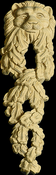 Onlay Moulding Carved Detail Collection LION_LEAF_LG-HM