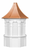 Oxford Style - Louvered Cupola - Signature Series