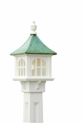 Capital Outdoor Accents - Patina Cupola Lantern