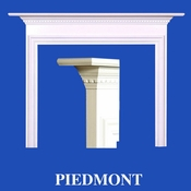 Piedmont Mantel - Stain Grade - Red Oak - 36