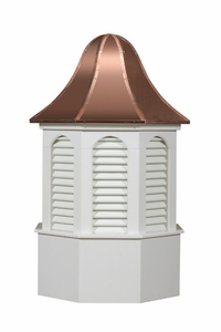 Pinnacle Style - Louvered Cupola - Estate Series