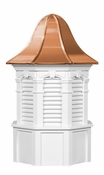 Plymouth Style - Louvered Cupola - Signature Series