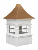 Quincy Style - Windowed Cupola - Signature Series