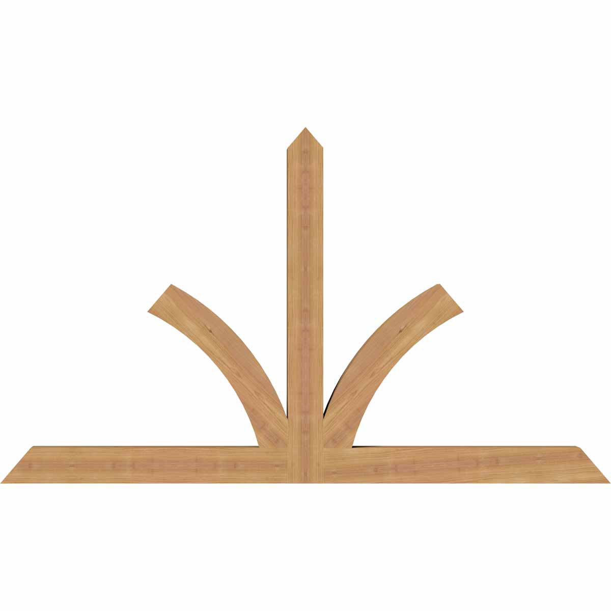 Richland smooth timber gable bracket western red cedar for Cedar gable brackets