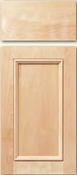 Soft Maple Cabinet Drawer<br>Recessed Panel<br>Series DS-853 Unfinished