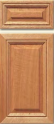 Soft Maple Mitered Cabinet Drawer<br>Raised Panel<br>Series DP-50 Unfinished