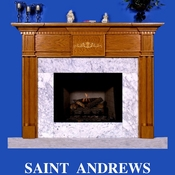 Saint Andrews Mantel - Stain Grade - Red Oak - 36