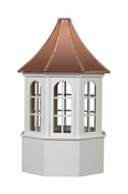 Salisbury Style - Windowed Cupola - Estate Series