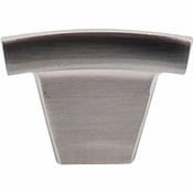 "Top Knobs - Sanctuary Collection - Arched Knob 1 1/2"" - Brushed Satin Nickel - TK1BSN"