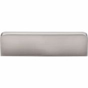 "Top Knobs - Sanctuary Collection - Neo Center Pull 3"" (c-c) - Brushed Satin Nickel - TK43BSN"