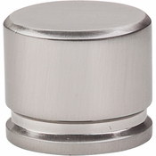 "Top Knobs - Sanctuary Collection - Oval Knob Large 1 3/8"" - Brushed Satin Nickel - TK61BSN"