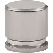 "Top Knobs - Sanctuary Collection - Oval Knob Medium 1 1/8"" - Brushed Satin Nickel - TK59BSN"