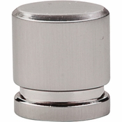 "Top Knobs - Sanctuary Collection - Oval Knob Small 1"" - Brushed Satin Nickel - TK57BSN"