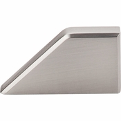 "Top Knobs - Sanctuary Collection - Tapered Knob 1"" (c-c) - Brushed Satin Nickel - TK13BSN"