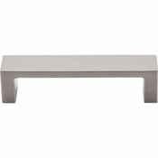 "Top Knobs - Sanctuary II Collection - Modern Metro Pull 3 3/4"" (c-c) - Brushed Satin Nickel - TK250BSN"
