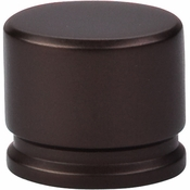 "Top Knobs - Sanctuary Collection - Oval Knob Large 1 3/8"" - Oil Rubbed Bronze - TK61ORB"