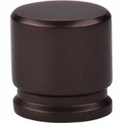 "Top Knobs - Sanctuary Collection - Oval Knob Medium 1 1/8"" - Oil Rubbed Bronze - TK59ORB"