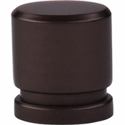 "Top Knobs - Sanctuary Collection - Oval Knob Small 1"" - Oil Rubbed Bronze - TK57ORB"