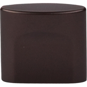 "Top Knobs - Sanctuary Collection - Oval Slot Knob Small 3/4"" (c-c) - Oil Rubbed Bronze - TK73ORB"