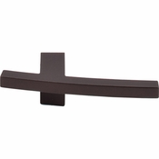 "Top Knobs - Sanctuary Collection - Slanted B Knob 3"" - Oil Rubbed Bronze - TK85ORB"