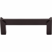 "Top Knobs - Sanctuary II Collection - Meadows Edge Pull 3 1/2"" (c-c) - Oil Rubbed Bronze - TK235ORB"