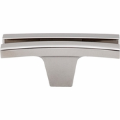 "Top Knobs - Sanctuary Collection - Flared Knob 2 5/8"" - Polished Nickel - TK87PN"