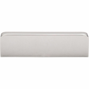 "Top Knobs - Sanctuary Collection - Neo Center Pull 3"" (c-c) - Polished Nickel - TK43PN"