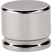 """Top Knobs - Sanctuary Collection - Oval Knob Large 1 3/8"""" - Polished Nickel - TK61PN"""
