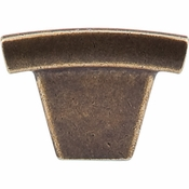 "Top Knobs - Sanctuary Collection - Arched Knob 1 1/2"" - German Bronze - TK1GBZ"