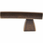 "Top Knobs - Sanctuary Collection - Arched Knob/Pull 2 1/2"" - German Bronze - TK2GBZ"