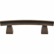 "Top Knobs - Sanctuary Collection - Arched Pull 3"" (c-c) - German Bronze - TK3GBZ"