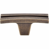 "Top Knobs - Sanctuary Collection - Flared Knob 2 5/8"" - German Bronze - TK87GBZ"