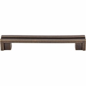 "Top Knobs - Sanctuary Collection - Flat Rail Pull 5"" (c-c) - German Bronze - TK56GBZ"