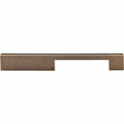 "Top Knobs - Sanctuary Collection - Linear Pull 7"" (c-c) - German Bronze - TK24GBZ"
