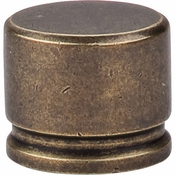 "Top Knobs - Sanctuary Collection - Oval Knob Large 1 3/8"" - German Bronze - TK61GBZ"