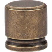 "Top Knobs - Sanctuary Collection - Oval Knob Medium 1 1/8"" - German Bronze - TK59GBZ"