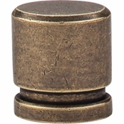 "Top Knobs - Sanctuary Collection - Oval Knob Small 1"" - German Bronze - TK57GBZ"