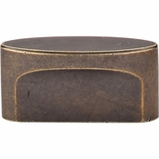 "Top Knobs - Sanctuary Collection - Oval Slot Knob Medium 1 1/2"" (c-c) - German Bronze - TK74GBZ"