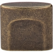 "Top Knobs - Sanctuary Collection - Oval Slot Knob Small 3/4"" (c-c) - German Bronze - TK73GBZ"